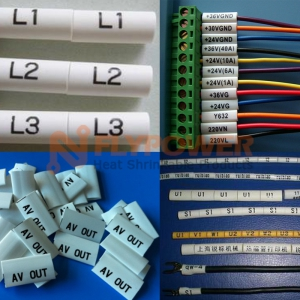 Number and alphabet printable heat shrinkable maker tubing BH-NIT